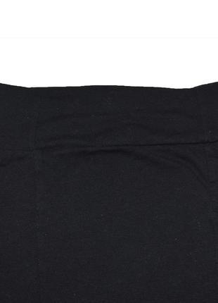 Юбка мини черная по фируге трикотажная genetration2 фото