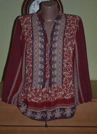 Блуза в стиле бохо george *1 фото
