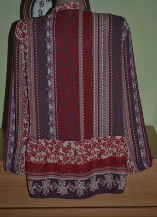 Блуза в стиле бохо george *2 фото