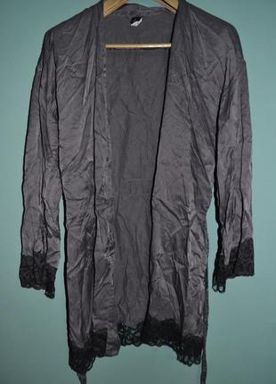 Прекрасный шелковый халат 100% шелк