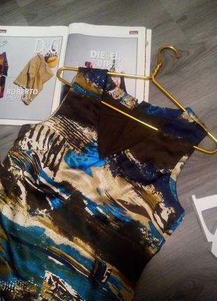 Красивое пестрое платье vero moda3