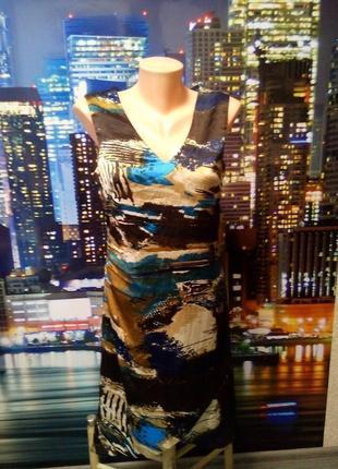Красивое пестрое платье vero moda1