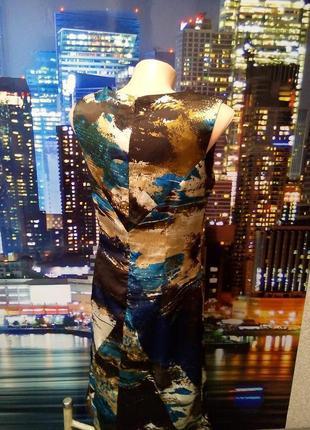 Красивое пестрое платье vero moda5