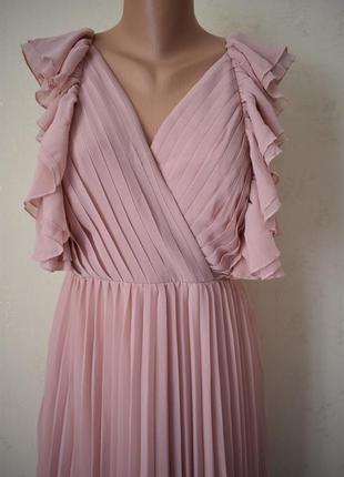 Новое красивое плиссированное платье2