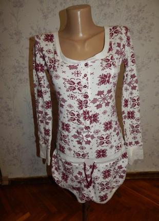 Love to lounge ромпер трикотажный домашний, пижама рs 8-101