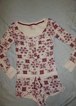 Love to lounge ромпер трикотажный домашний, пижама рs 8-103