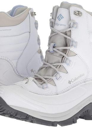 """columbia"" bugaboot iii mid женские ботинки зимние 8us, 38й размер."