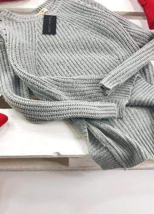 Стильный свитер крупной вязки new look2