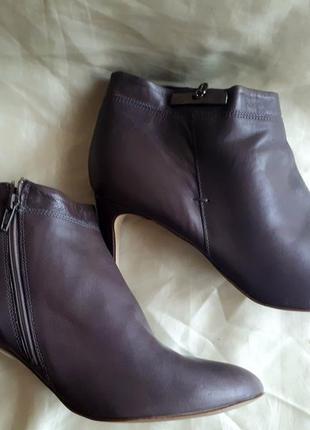 Кожаные ботинки 43 размер / ботинки next 43 размер /2я пара в подарок5
