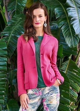 Распродажа - текстурный пиджак tchibo, германия - р. 46-48 укр.