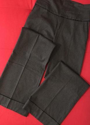 Штаны с высокой посадкой брюки