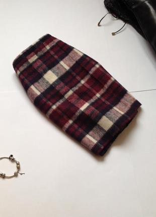 Теплая юбка мини в клетку george. смотрите мои объявления!3