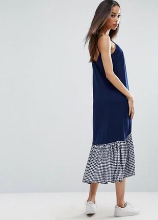 Asos платье сарафан , можно для беременных 8 - размер