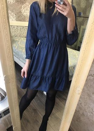 Джинсовое платье1
