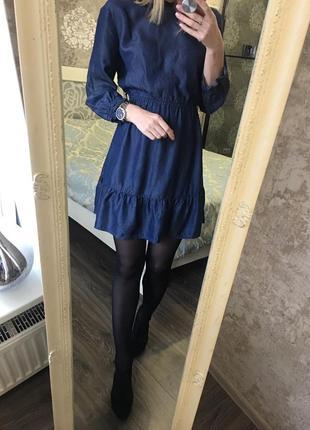 Джинсовое платье4