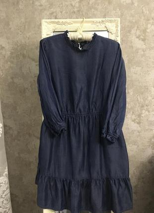 Джинсовое платье3