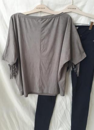 Блуза с бахромой2