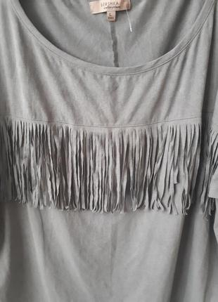 Блуза с бахромой3