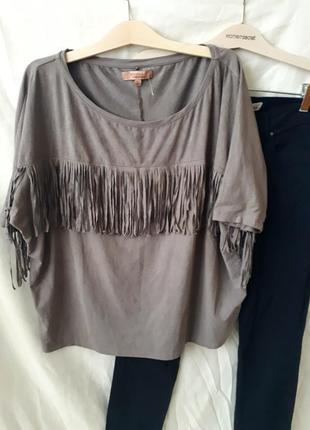 Блуза с бахромой4