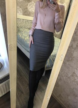 Классическая юбка zara1