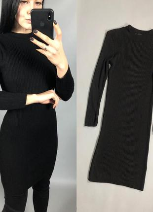 Платье лапша черное atmosphere2