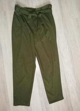1+1=3🍰актуальные брюки штаны с высокой посадкой л-хл2