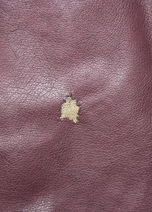 Куртка курточка кожзам цвета марсала4