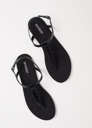 Босоножки, сандали, шлепки h&m