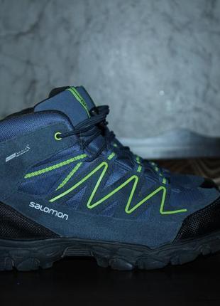 Кроссовки-ботинки salomon gore-tex