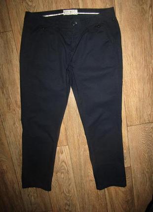 Брюки укороченные брюки р-р 12 бренд bnb1