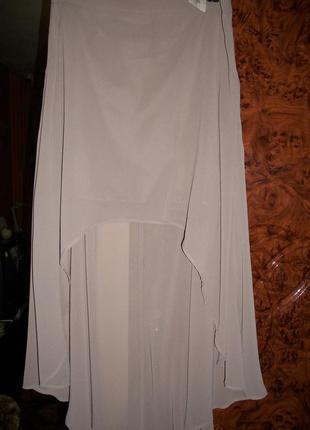 Воздушная ассиметричная юбка