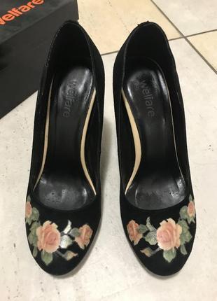 Туфли welfare каблук 9.5 см