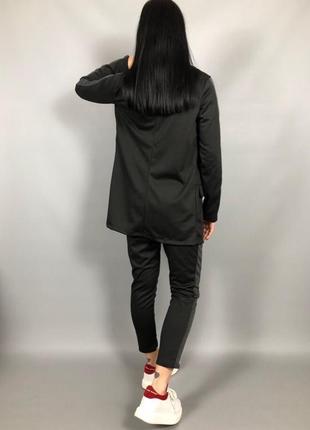 Костюм с лампасами пиджак брюки4 фото