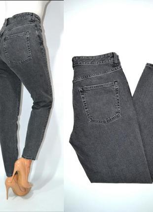 Джинсы момы бойфренды высокая посадка стразы mom мом jeans denim.3
