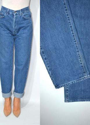 Джинсы момы бойфренды  высокая посадка винтаж  мом mom jeans gianfranco ferre.2
