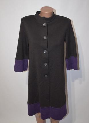 Пальто трикотажное1