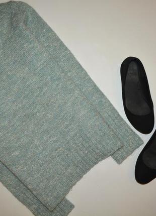 Теплый свитер, в составе шерсть и мохер1