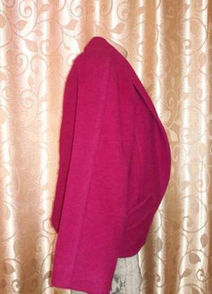 Стильное женское демисезонное шерстяное пальто, пиджак planet4