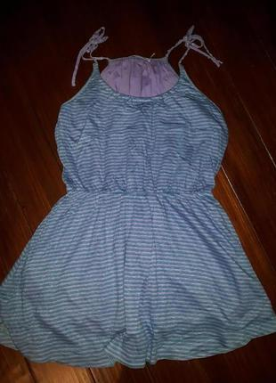 See by chloe, льняное трикотажное платье! р.-m