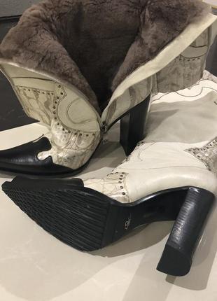 Стильні зимові чоботи