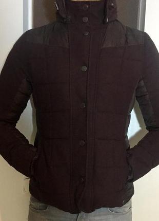Куртка зимняя ikks label 100 % пух