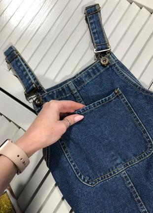 🌿 крутезный джинсовый сарафан от denim co2