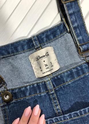 🌿 крутезный джинсовый сарафан от denim co3