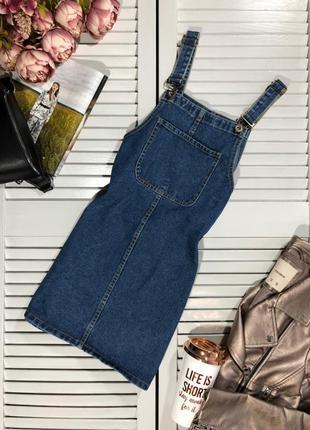🌿 крутезный джинсовый сарафан от denim co1