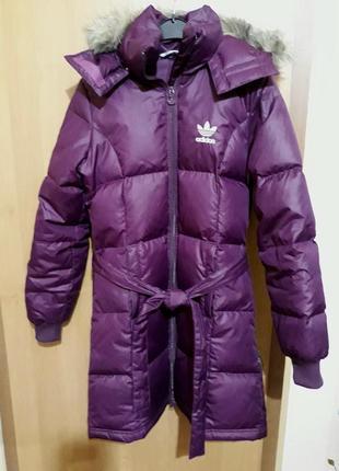 Пуховик/ куртка/ пальто adidas р. xs-s