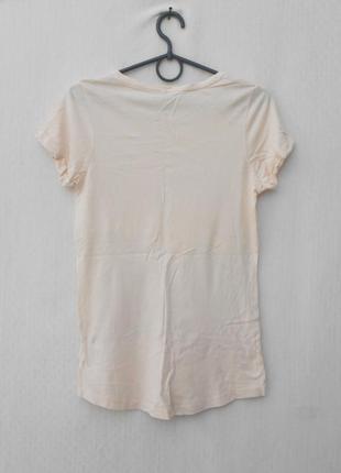 Летняя 50% хлопковая 50% из вискозы футболка с надписью с принтом3