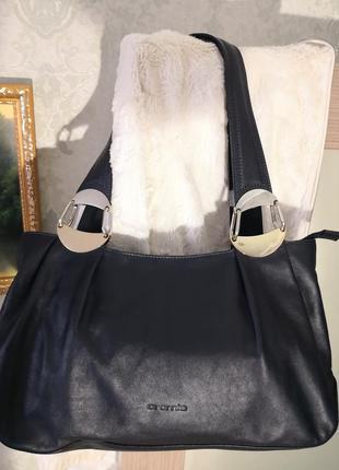 Роскошная кожаная сумка cromia