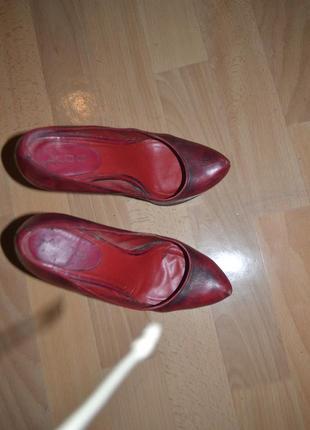 Туфли aldo (37) кожа