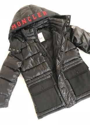 Куртка на пуху для мальчика монклер moncler
