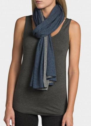 Majestic filatures - премиум коттоновый + кашемировый шарф – 34х238 см2